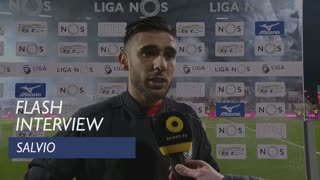 Liga (15ª): Flash interview Salvio