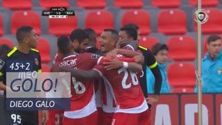 GOLO! CD Aves, Diego Galo aos 45'+2', CD Aves 0-2 Rio Ave FC