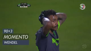 Sporting CP, Jogada, Wendel aos 90'+3'