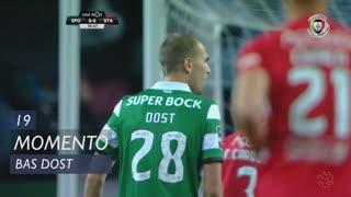 Sporting CP, Jogada, Bas Dost aos 19'