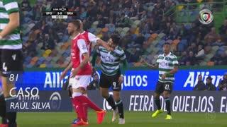 SC Braga, Caso, Raúl Silva aos 81'