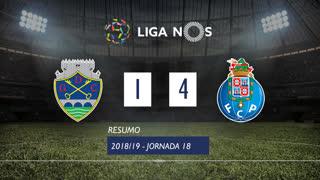 Liga NOS (18ªJ): Resumo GD Chaves 1-4 FC Porto