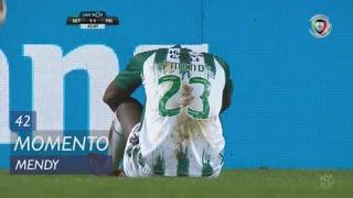 Vitória FC, Jogada, Mendy aos 42'
