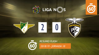 Liga NOS (10ªJ): Resumo Flash Moreirense FC 2-0 Portimonense
