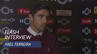 Liga (10ª): Flash interview Abel Ferreira