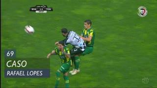Boavista FC, Caso, Rafael Lopes aos 69'