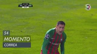 Marítimo M., Jogada, Correa aos 54'