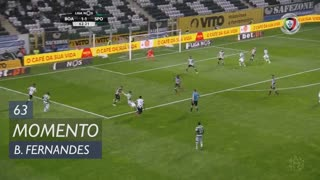 Sporting CP, Jogada, Bruno Fernandes aos 63'