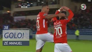 GOLO! Sta. Clara, Zé Manuel aos 38', Sta. Clara 1-0 FC Porto