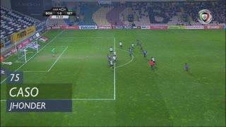 Vitória FC, Caso, Jhonder aos 75'