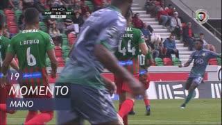 Vitória FC, Jogada, Mano aos 19'