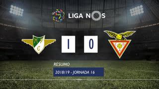 Liga NOS (16ªJ): Resumo Moreirense FC 1-0 CD Aves