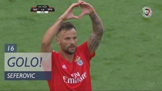 GOLO! SL Benfica, Seferovic aos 16', SL Benfica 1-0 Sta. Clara