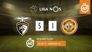 Liga NOS (25ªJ): Resumo Flash Portimonense 5-1 CD Nacional