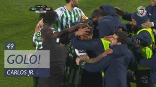 GOLO! Rio Ave FC, Carlos Jr. aos 49', Rio Ave FC 1-0 SC Braga