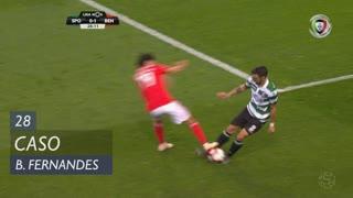 Sporting CP, Caso, Bruno Fernandes aos 28'