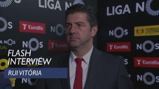 Liga (12ª): Flash interview Rui Vitória