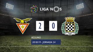 Liga NOS (24ªJ): Resumo CD Aves 2-0 Boavista FC