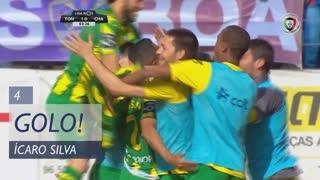 GOLO! CD Tondela, Ícaro Silva aos 4', CD Tondela 1-0 GD Chaves