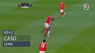 SL Benfica, Caso, Lema aos 45'+1'