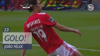 GOLO! SL Benfica, João Félix aos 23', SL Benfica 2-0 Santa Clara