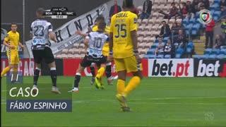 Boavista FC, Caso, Fábio Espinho aos 11'