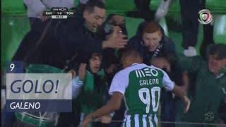 GOLO! Rio Ave FC, Galeno aos 9', Rio Ave FC 1-0 CD Tondela