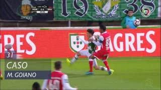 SC Braga, Caso, Marcelo Goiano aos 31'