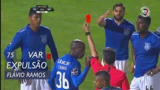 CD Feirense, Expulsão, Flávio Ramos aos 75'