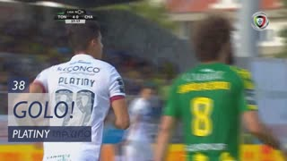 GOLO! GD Chaves, Platiny aos 38', CD Tondela 4-1 GD Chaves