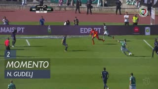 Sporting CP, Jogada, N. Gudelj aos 2'