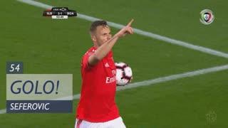 GOLO! SL Benfica, Seferovic aos 54', SL Benfica 3-1 Boavista FC
