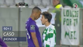 Vitória FC, Caso, Jhonder aos 90'+1'