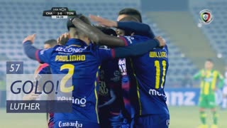 GOLO! GD Chaves, Luther aos 57', GD Chaves 2-0 CD Tondela