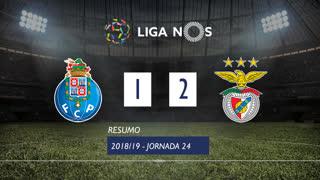 Liga NOS (24ªJ): Resumo FC Porto 1-2 SL Benfica