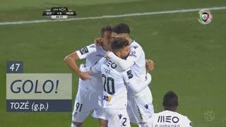 GOLO! Vitória SC, Tozé aos 47', Vitória SC 1-0 Moreirense FC