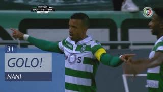 GOLO! Sporting CP, Nani aos 31', Sporting CP 1-0 Boavista FC