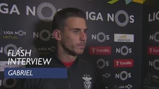 Liga (18ª): Flash interview Gabriel
