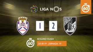 Liga NOS (19ªJ): Resumo Flash CD Feirense 1-2 Vitória SC