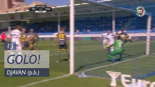GOLO! CD Feirense, Djavan (p.b.) aos 13', CD Feirense 1-1 GD Chaves