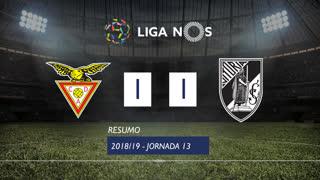 Liga NOS (13ªJ): Resumo CD Aves 1-1 Vitória SC