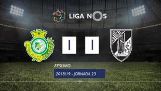 Liga NOS (23ªJ): Resumo Vitória FC 1-1 Vitória SC
