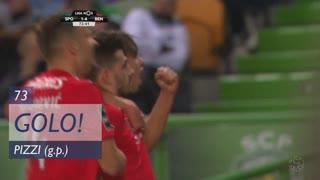 GOLO! SL Benfica, Pizzi aos 73', Sporting CP 1-4 SL Benfica