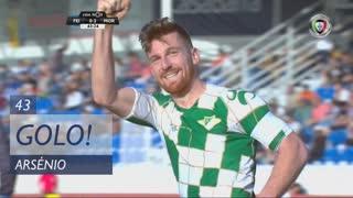 GOLO! Moreirense FC, Arsénio aos 43', CD Feirense 0-2 Moreirense FC