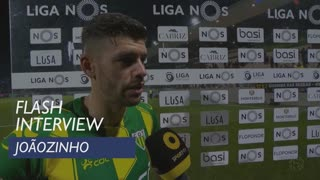 Liga (23ª): Flash Interview Joãozinho