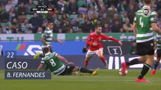 Sporting CP, Caso, Bruno Fernandes aos 22'