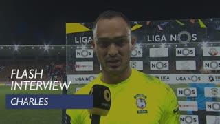 Liga (23ª): Flash Interview Charles