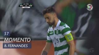 Sporting CP, Jogada, Bruno Fernandes aos 57'