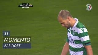 Sporting CP, Jogada, Bas Dost aos 31'