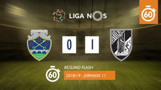 Liga NOS (11ªJ): Resumo Flash GD Chaves 0-1 Vitória SC